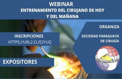 WEBINAR- ENTRENAMIENTO DEL CIRUJANO DE HOY Y DEL MAÑANA