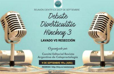 Debate Diverticulitis Hinchey 3