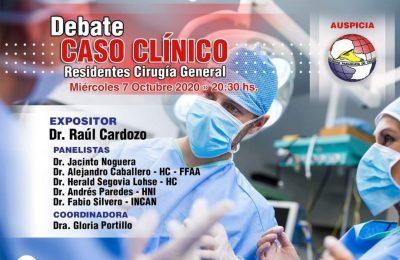 Debate Caso Clínico – Residentes Cirugía General