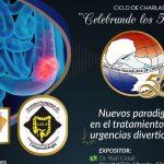 Mensaje e invitación a Webinar Aniversario