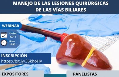 Manejo de las lesiones quirúrgicas de las vías biliares