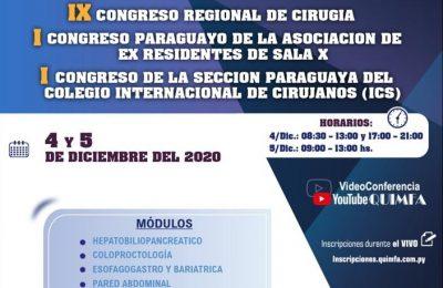 IX CONGRESO REGIONAL DE CIRUGIA