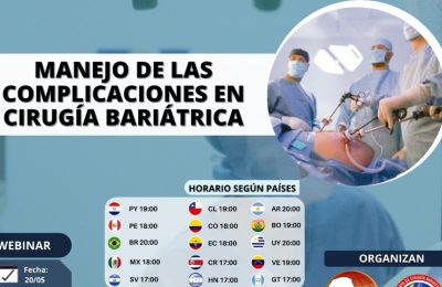 Manejo de las complicaciones en cirugía bariátrica