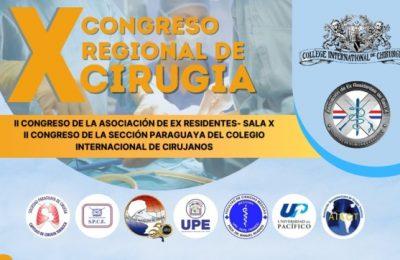 X Congreso Regional de Cirugía